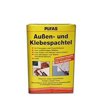 Pufas Außen- und Klebespachtel - innen und außen 1 kg