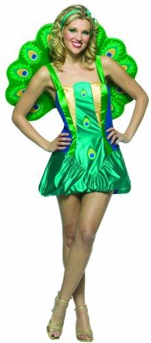 Imagen de disfraz pavo real para mujer