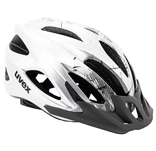 Uvex Fahrradhelm Viva 2 Aosta Grey/Black 56-62 cm Kopfumfang UVP 69,90 €