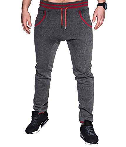 BetterStylz -  Pantaloni sportivi  - Uomo grigio scuro S