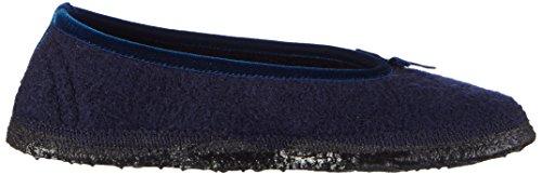 Nanga Elise, Chaussons courts, non doublées fille Bleu - Blau (Dunkelblau 37)