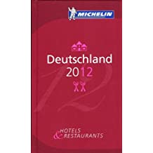 Deutschland. Guía roja Michelín 60008 (Michelin Red Guide Deutschland (Germany): Hotels & Restaurants (Ger)