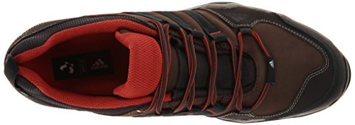 Adidas Outdoor-Brushwood Leder Wanderschuh, schwarz / schwarz / Granit, 7 M Us Brown/Black/Brown