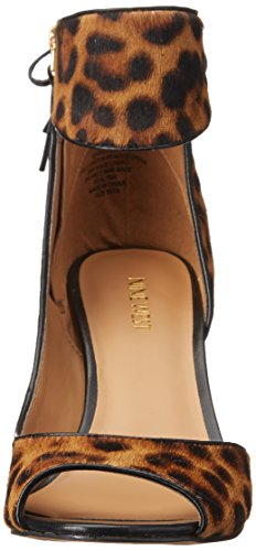 Nine West Instruct Cuir Sandales Natm-Bk Po