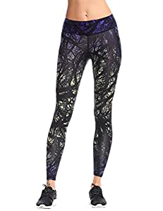 Yoga Leggings Femme Pantalon Collants Sport Jogging COOL