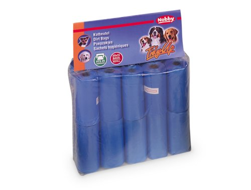 nobby-tidyup-67356-cane-sacchetti-20-rotoli-di-15-sacchetti-blu