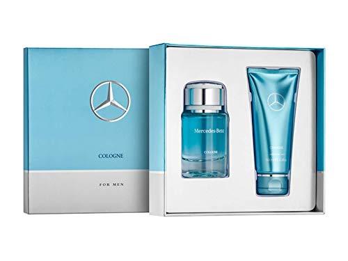 MB Herren Parfüm Geschenkset, Mercedes-Benz Parfums Cologne, 2er-Set, 75 ml, Parfum, Parfüm, Herren, EAU de Toilette, Duschgel 100 ml, Shower Gel, (Mercedes-parfüm)