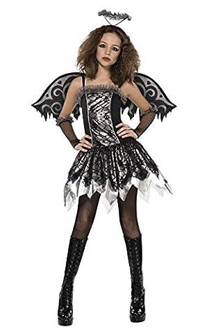 Halloween gefallener Engel Kostüm für junge Mädchen 164/170 (14-15 Jahre)