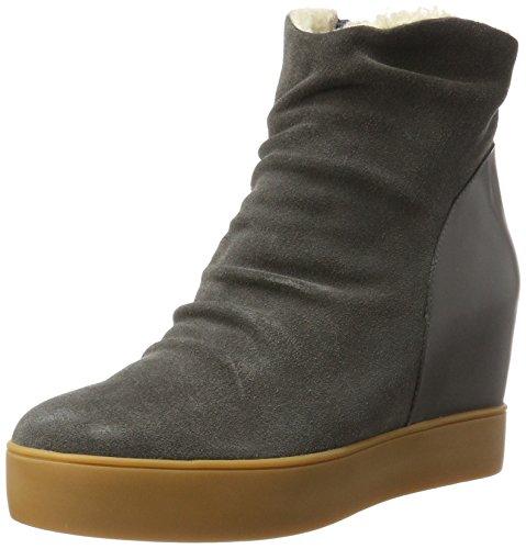 Shoe The Bear Damen Trish fur Stiefel, Grau (141 Dark Grey), 36 EU