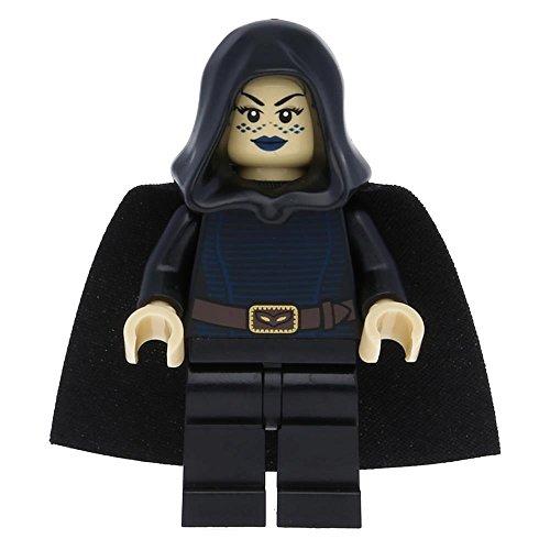 LEGO Star Wars - Minifigur Barriss Offee mit schwarzem Umhang und Kapuze