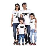 Famille Equipée Été T-Shirt T-Shirt King Queen Prince Princess Tenue Maman Papa...