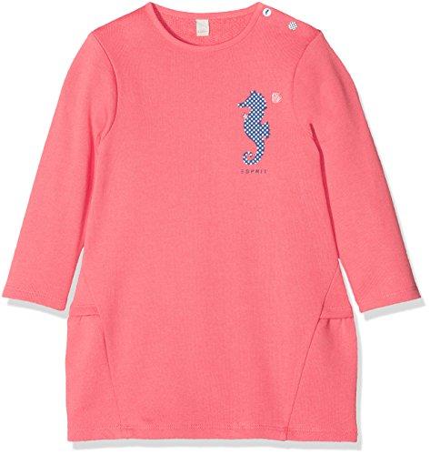 ESPRIT KIDS Baby-Mädchen Kleid RL3004102, Orange (Coral 323), 74
