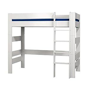 Furniture To Go Kids World Kids High Sleeper, 176 x 206 x 95 cm, White