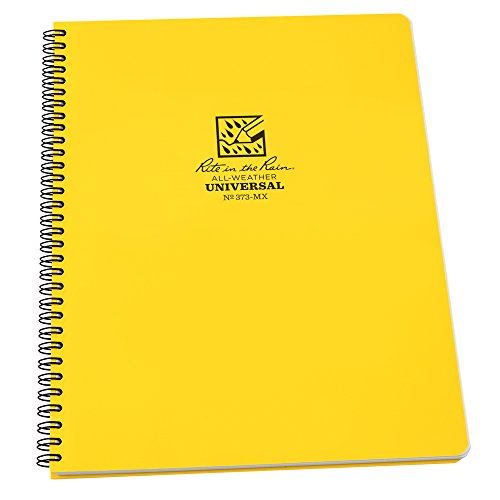 rite-in-the-rain-unisex-waterproof-124-page-notepad-yellow-8-1-2-x-11-inch
