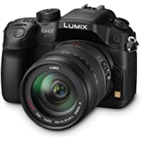 Panasonic Lumix DMC-GH3HEB-K Compact System Digital Camera with 14-140mm Lens - Black (17.2 MP, 4x Digital Zoom)