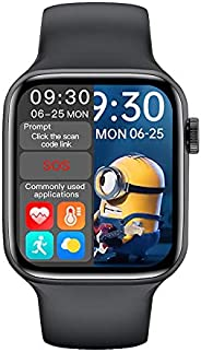 ساعة ذكية من اتش دبليو 16 2021، 44 ملم، شاشة كاملة اتش دي تقنية اي بي اس 1.72 انش، مكالمة بلوتوث، تعقب اللياقة