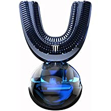 LoveVV 360 Grado Sonic automático de Cepillo de Dientes eléctrico USB Recargable Inteligente de silicio ultrasónico