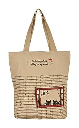 Lustre Crafts Tote Bag (Beige)