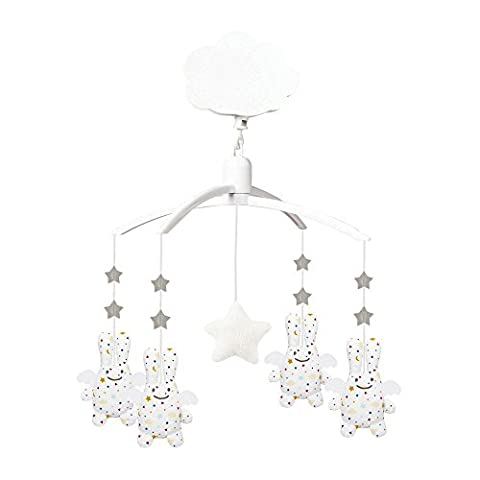 Trousselier - Mobile Musical - Ange Lapin - Chambre Etoiles