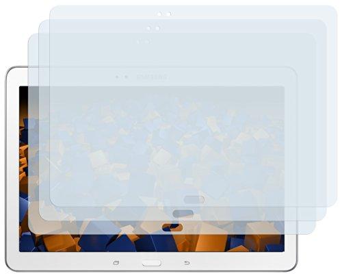 mumbi Schutzfolie kompatibel mit Samsung Galaxy Tab Pro 10.1 Zoll LTE Folie klar, Bildschirmschutzfolie (3x)