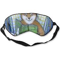 Animal Shiba Dog Reading 99% Eyeshade Blinders Sleeping Eye Patch Eye Mask Blindfold For Travel Insomnia Meditation preisvergleich bei billige-tabletten.eu