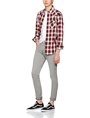 FIND Grey Skinny, Jeans Homme Gris (Grey)