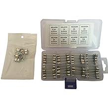 15A 30A 10A KFZ-Sicherung Glassicherung Sicherung 6er-Set 20A 8A 25A