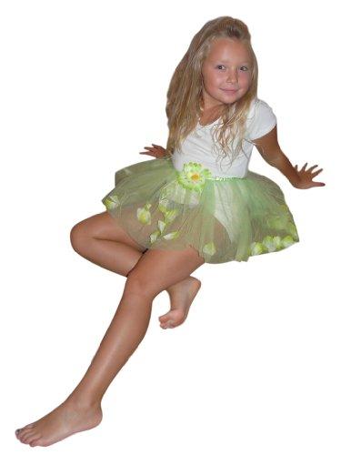 enliegenden Blüten – ideal für Prinzessinnen, Elfen und Feen und allerlei andere kreative Kostümideen. Für die Größen 98-116. Li10 (50er Jahre Kleinkind Jungen Kostüm)