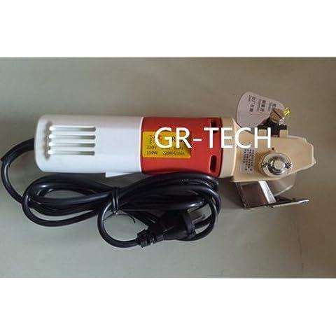 gr-tech strumento® industriale elettrico Forbici sartoria elettrico tessuto Cutter Abbigliamento Tessile utensili da taglio 220V o 110V