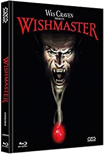 Wishmaster - uncut (Blu-Ray+ DVD) auf 999 limitiertes Mediabook Cover A [Limited Collector's Edition] [Limited Edition]