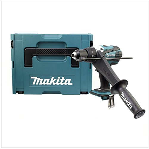 Preisvergleich Produktbild Makita Akku-Schlagbohrschrauber 18 V, im Makpac ohne Akku und Ladegerät, DHP458ZJ