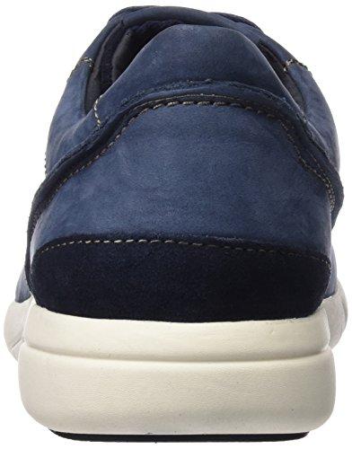 Geox U Brattley A, Baskets Basses Homme Blau (NAVYC4002)