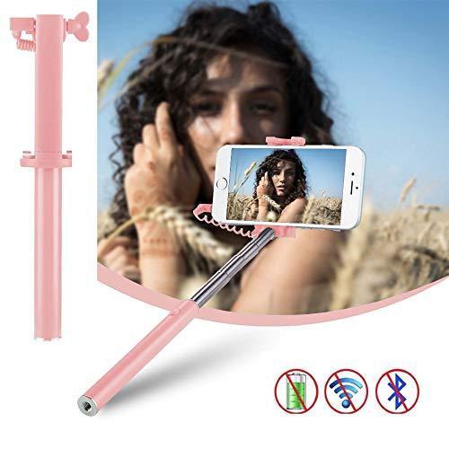 X-Tab Handy Selfie Stick für Timmy M20 Pro Selfie Stange Stick Halterung Smartphone - UStick Rosa