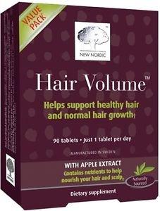 Hair Volume New Nordic 90 comprimés pousse des cheveux