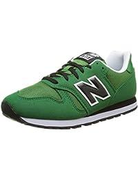 New Balance Unisex-Kinder Kj373gey M Sneakers, Verde/Nero