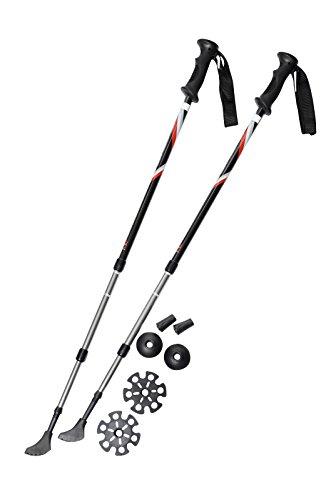 41QunKOQvsL - Pair of Trekrite Active Antishock Power Walking Poles/Hiking Sticks UK Brand