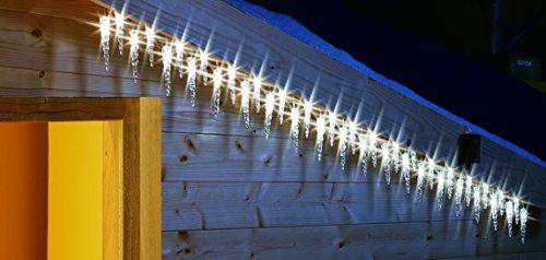 deeel basics 110094 Solar-LED Eiszapfen outdoor, 20-er Set -