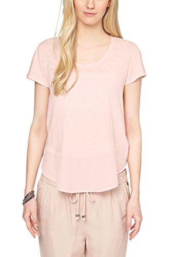 s.Oliver 14.503.32.2189 - T-shirt - Femme Orange - Orange (powder peach 2000)
