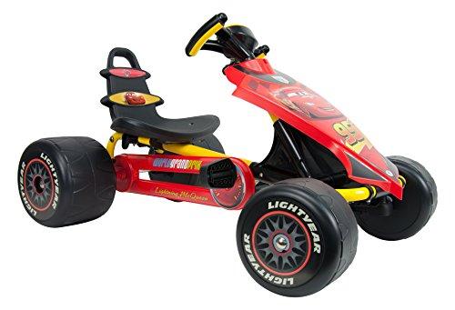 Cars Injusa - Go-Kart, Color Rojo y Amarillo (4125)
