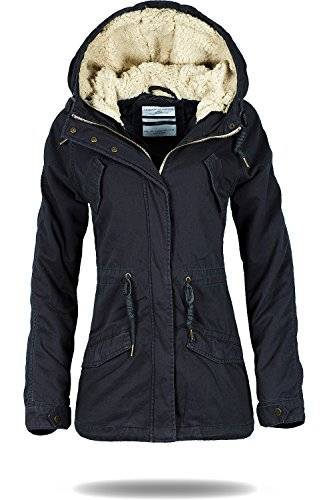 Urban Surface Damen Parka anthracite colourless M