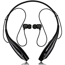 Wireless Bluetooth in-Ear Headphones for ZTE Sonata 4G Earphone Headset with Mic, HBS-730 Magnetic Earbuds, Neck-Band, Jogger