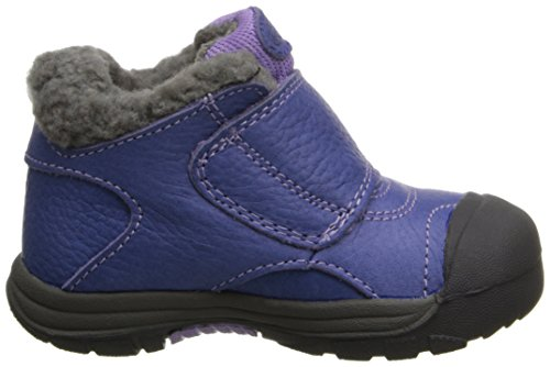 KEEN Kootenay Kleinkinder/Baby Mädchenschuh Winter Outdoor Halbschuh Leder/Textil Klettverschluss Farbe: Lila Orient Blue/Bougainvillea