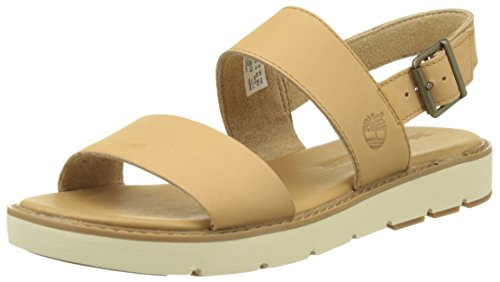 Timberland Bailey Park Slingbackdoe Dry Gulch, Sandales Compensées Femme Vert (Doe Dry Gulch)