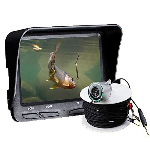 FXQIN HD1000TVL fishfinder subacqueo a infrarossi LED Portatile Fotocamera da Pesca Monitor LCD Portatile da Pesca Fotocamera DVR Pesca in Mare Kayak