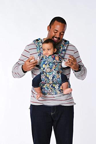 Baby Tula Explore - SPACE RIDER - Marsupio regolabile per neonati e bambini, ergonomico, varie posizioni per 3,2-20,4 kg