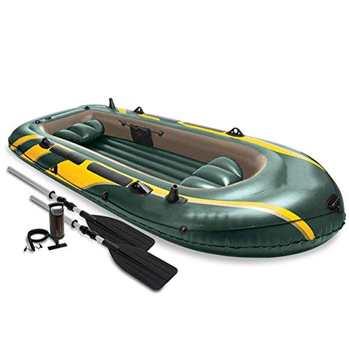 ZOUBIAG Bote For 4 Personas Bomba Bote Inflable Bote