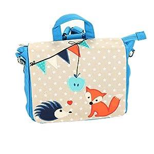 ★ FUCHS & STERN: Kindergartenrucksack mit Name - personalisiert ★