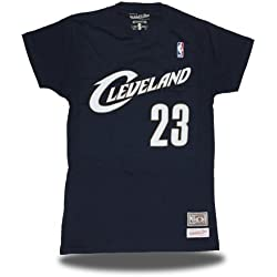 Mitchell & Ness Camiseta Retro Lebron James Cleveland Cavaliers Color Navy (XL)