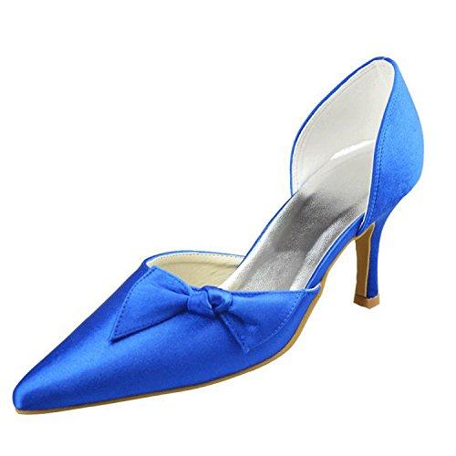 Kevin Fashion , Sandales Compensées femme Bleu - bleu
