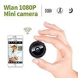 Kleiner! Mini Kamera, KinCam 1080P Full HD Wireless Überwachungskamera Nanny Cam Kamera mit Bewegungmelder für iPhone/Android / iPad